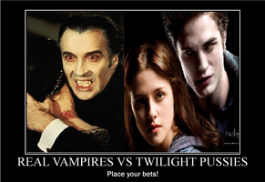 Real Vampires vs Twilight by Dragonheart69