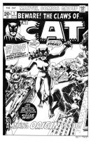 Claws of the Cat #1 Cover Recreation by dalgoda7