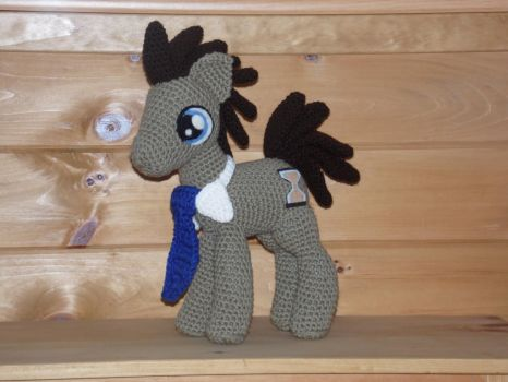 Dr. Whooves- David Tennant by Country-Geek-Crochet