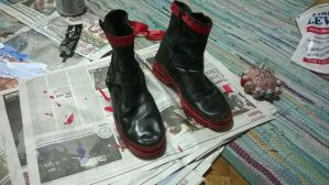 edward elric's boots finish by Die-Rose