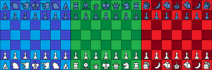 Three Fronts Chess by Mr86Returns