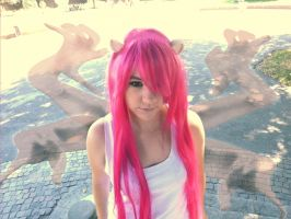 Lucy Cosplay Vectors [Elfen Lied] by JuubeiChan