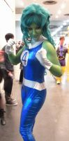 NYCC'12 She-Hulk I by zer0guard