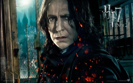 Official Snape Wallpaper by HarryPotter645