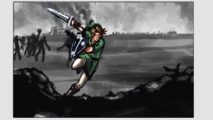 Link [Legend of Zelda] Animated Storyboard! by pskibobby
