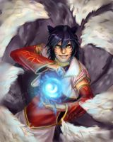Male Ahri by KamiSpirit