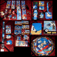 Sonic Collection .:Misc Part 1:. by VeggieMadness