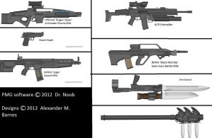 Military Weapon Variants 62 by Marksman104