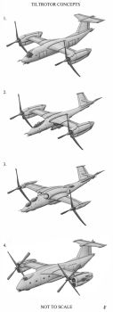 Tiltrotor Concepts by jflaxman