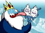 Ice King Used Lick by WillDrawForFood1