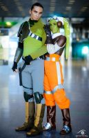 Star Wars Rebels: Kanan + Hera by AlyonaDAngel