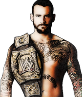 Cm Punk Champion by BlazesCreations