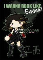 I wanna rock like Emma by NickyToons