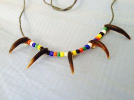 $20 Porcupine claw necklace by MagicallyCapricious