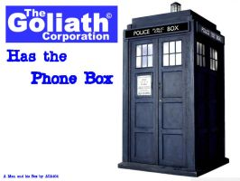 Goliath has the Phone Box! by Arrancaropenaccount
