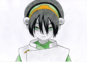 Toph by Quinninism