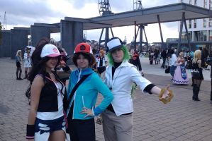 :MCM Oct 11: Hilda, N, Hilbert by TheLupineOne