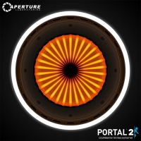 Portal 2 - TurretBot Eye by dj-corny
