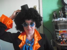 Halloween Cosplay1-Brook Alive by supernanny191