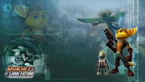Ratchet Clank PSP Wallpaper 2 by RatchetMario