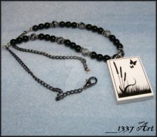 Ghost Meadow Necklace by 1337-Art
