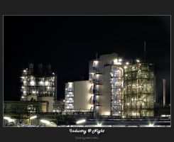 Industry at Night by oetzy