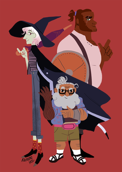 The Adventure Zone by reimena