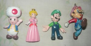 Mario Figurines by KambalPinoy