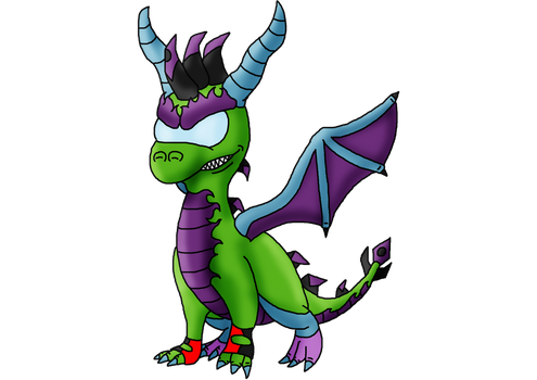 Ren the Dragon (Young/ Hatchling) by DevilBoy616