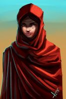 Hooded Child speed paint. by victter-le-fou