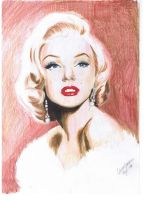 Marilyn Monroe by llinaa