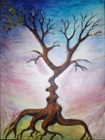 The tree of the kiss by CORinAZONe