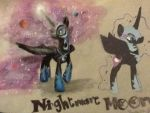 Nightmare Moon Fanart by theoddlydifferentone