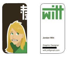business card design by charpal