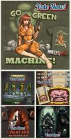 TMNT Design Submissions by ninjaink