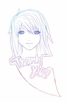 Thank you for 1000 hits by Kokoro16