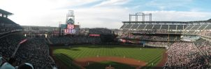 Coors Field by blankearthdesign