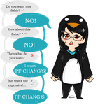 Just Another Picky Penguin by Elisa36