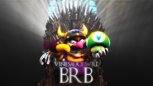 Vinesauce: Game of Wario BRB by theguywhoishere