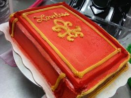 LOVELESS BOOK CAKE 3 by BustyShinRaSOLDIER