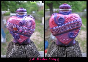 Heart Shaped  Bottle by krishna76