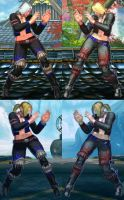 SFxT Mod - Nina:Christie Cosplay (Dead or Alive 4) by Segadordelinks