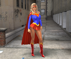 80's Supergirl by Aszmo