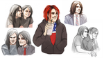 mcr sketches by Pikeperch9