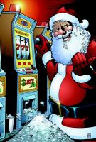 Gambling Santa, the Sequel by artsavant
