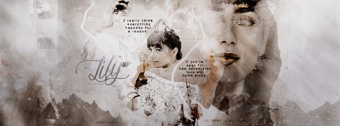 Cover - Lily Collins by nebula-dust