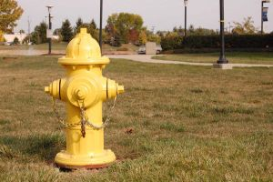 Yellow Fire Hydrant Stock 2 by CrimsonNightStock