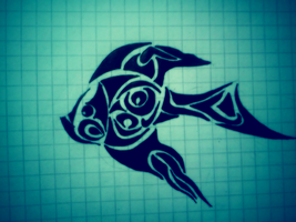Fish Tribal by Ashendail