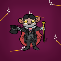 Disney Villains - Professor Ratigan by ChibiMagics