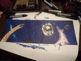Wheatley and Space Core by Valty77